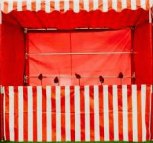coconut shy side stall hire