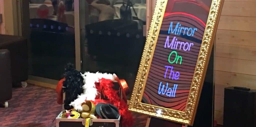 magic mirror hire from Odin Events
