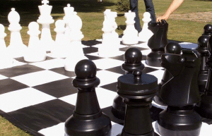 giant chess hire