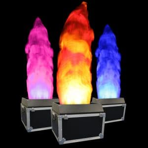 coloured Flame Lights for events