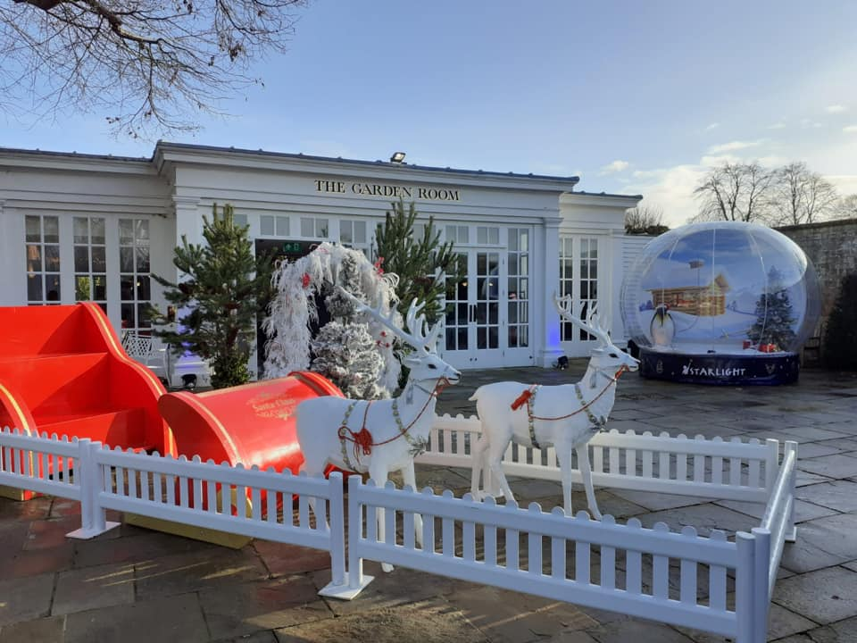 Disabled Friendly Christmas Sleigh