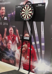 Electronic Darts Game setup for events