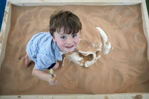 shopping centre entertainment, the dino dig from odin events will have your shoppers