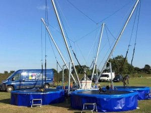 four person mobile bungee trampoline - bungee-Trampoline-Experts